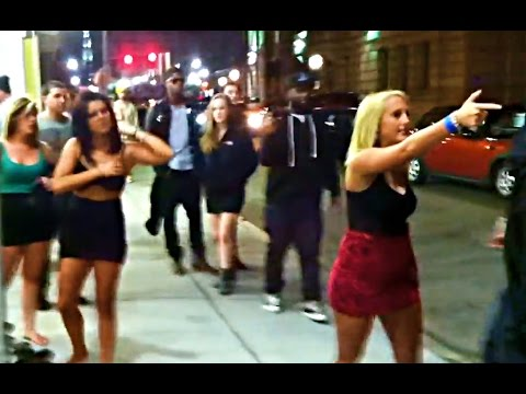 Girl Fight after Concert
