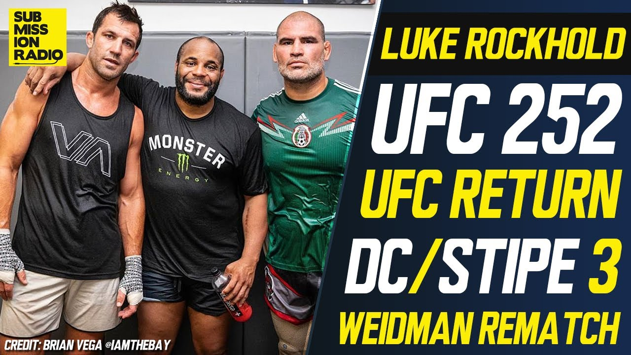 Luke Rockhold Wants To Fight 'Pathetic' Chris Weidman But Not In 'Lame' Apex Center